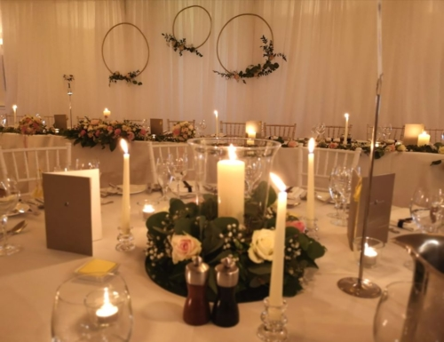 romantic wedding styling Mount Falcon
