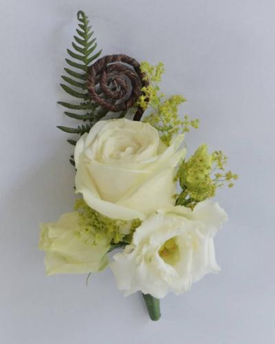 Maori theme buttonhole