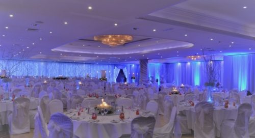 Fairylights & room draping