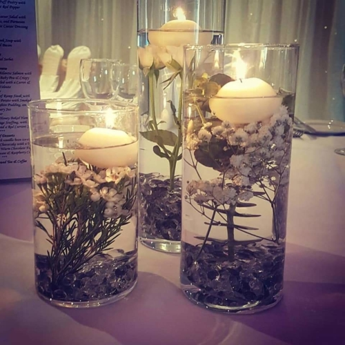 candle table centre