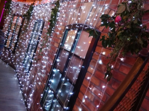 fairylight draping