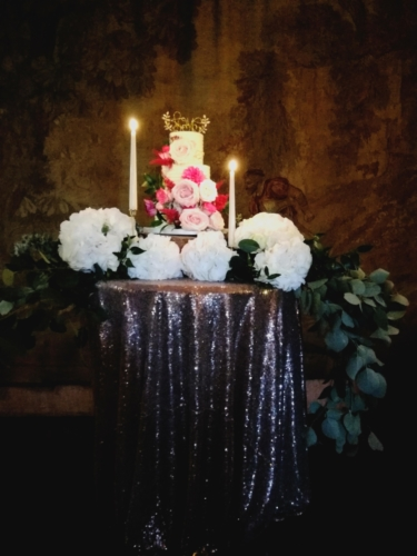 Vintage Romance Cake Table