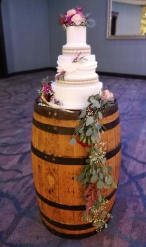 Cask Cake stand