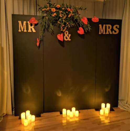Cake/photo 8ft Chalkboard Backdrop