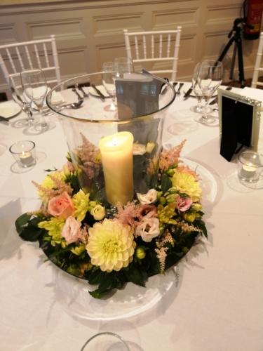 fresh flower table centre
